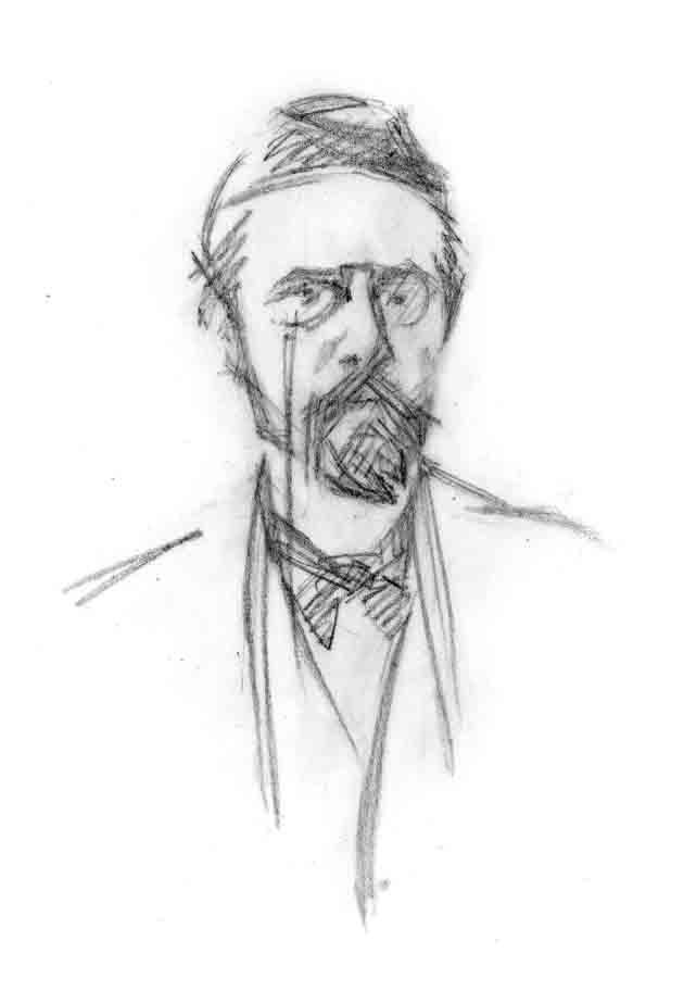 как нарисовать портрет антона паловича чехова поэтапно по-вашему
