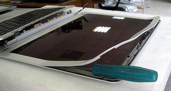 disassemble macbook air