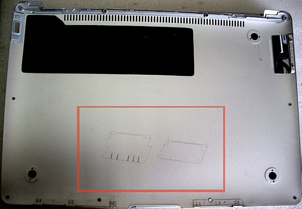 disassemble macbook air